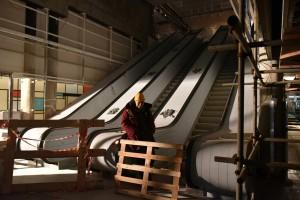 07 декабря 2015 Мэр Москвы Сергей Собянин осмотрел станцию метро Румянцево
