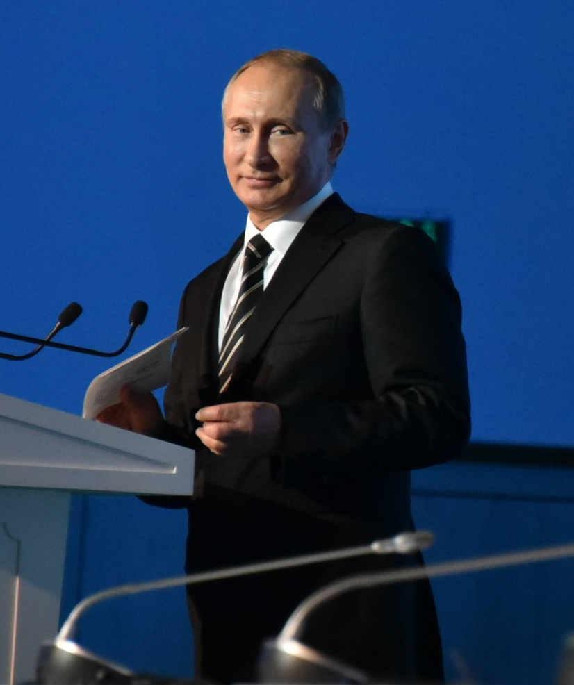 Time: Владимир Путин опять претендент на звание «Человека года»