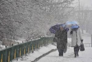 03 Апреля 2015 Снег в Москве