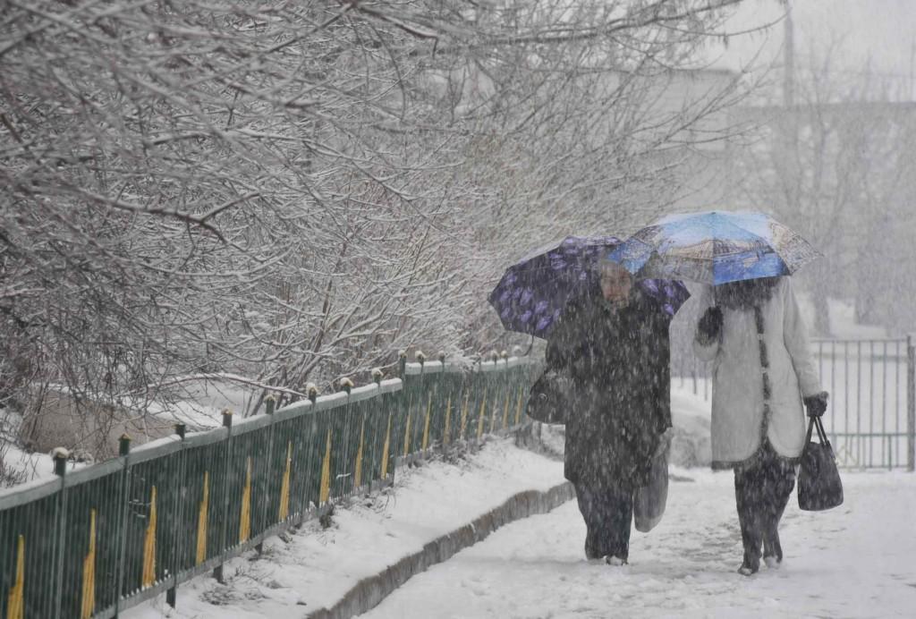 В выходные в столицу придут мокрый снег и порывы сильного ветра