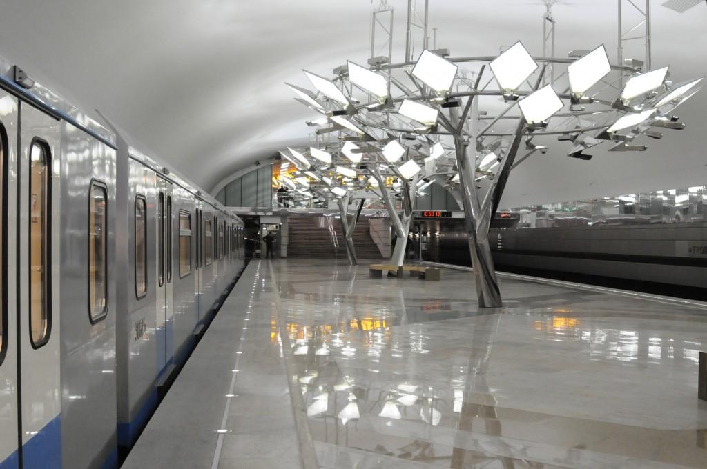 Станцию метро «Тропарево» закроют на 30 декабря