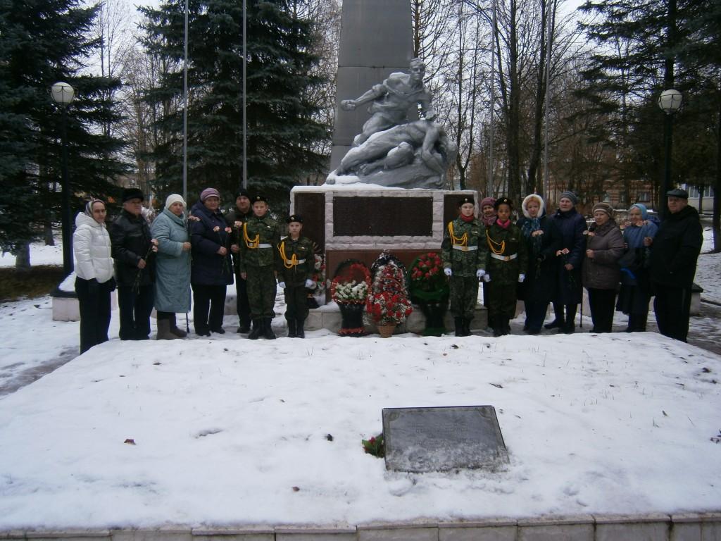 Жители Роговского поселения почтили память погибших в Битве под Москвой