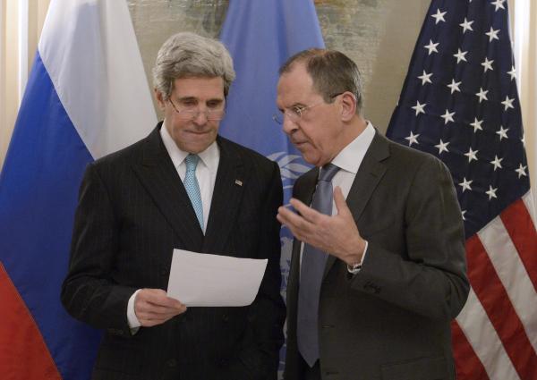 Сергей Лавров и Джон Керри проводят встречу в Москве