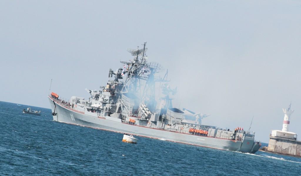 «Сметливый» дал предупредительную очередь по турецкому судну