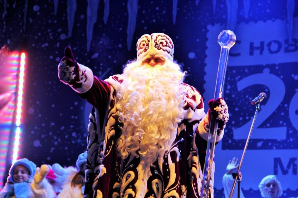 Дед Мороз приехал в наукоград