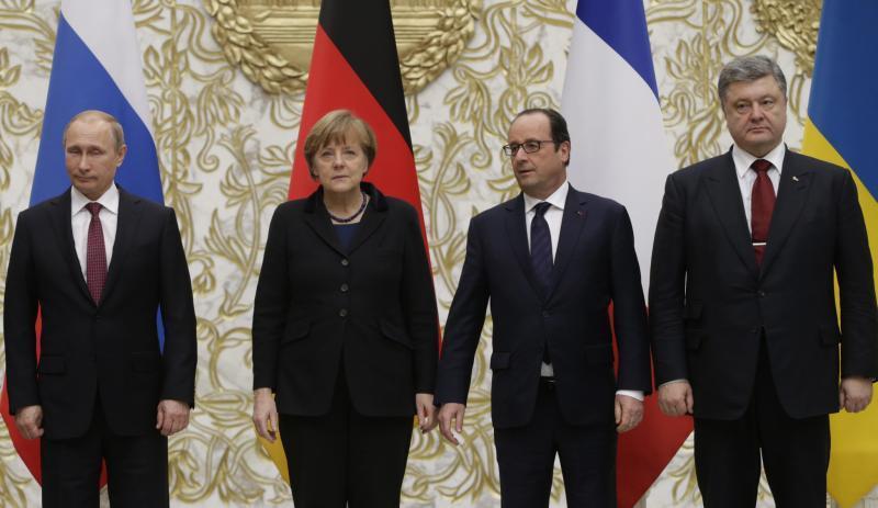 «Нормандская четверка»: лидеры стран договорились о продлении минских соглашений на год