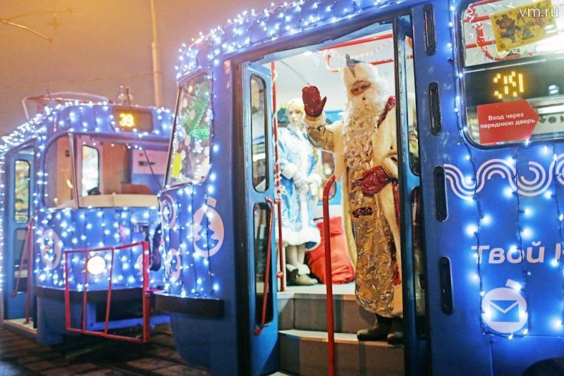 В новогодние праздники Москва скорректирует график работы общественного транспорта