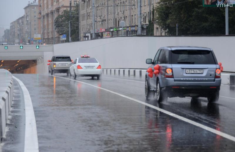 В текущем году в Москве было построено более 90 километров дорог