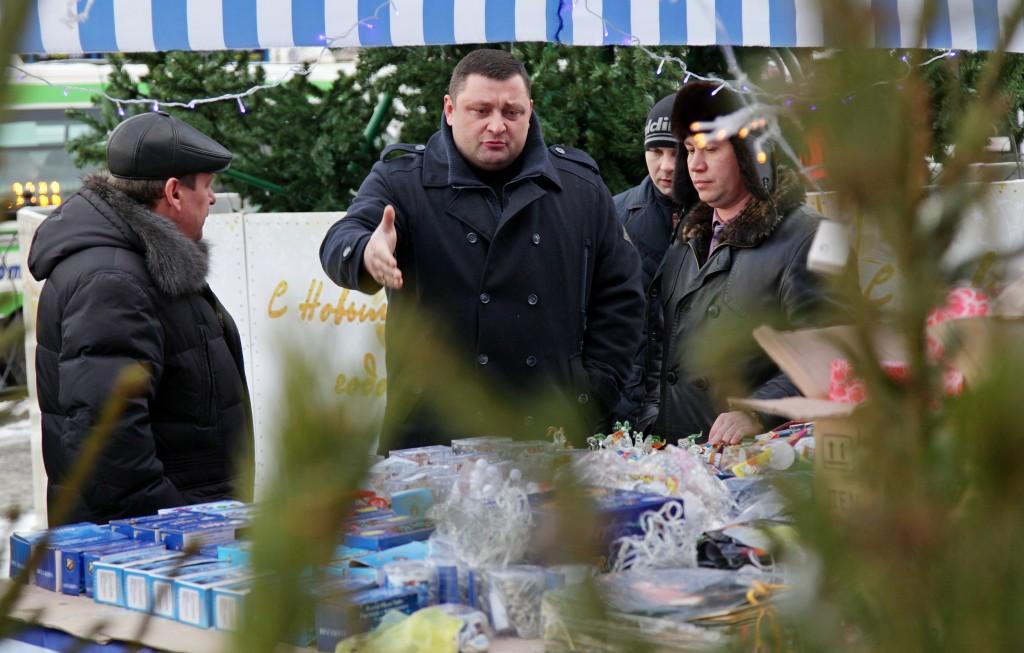 Алексей Немерюк: В Москве работает 201 елочный базар