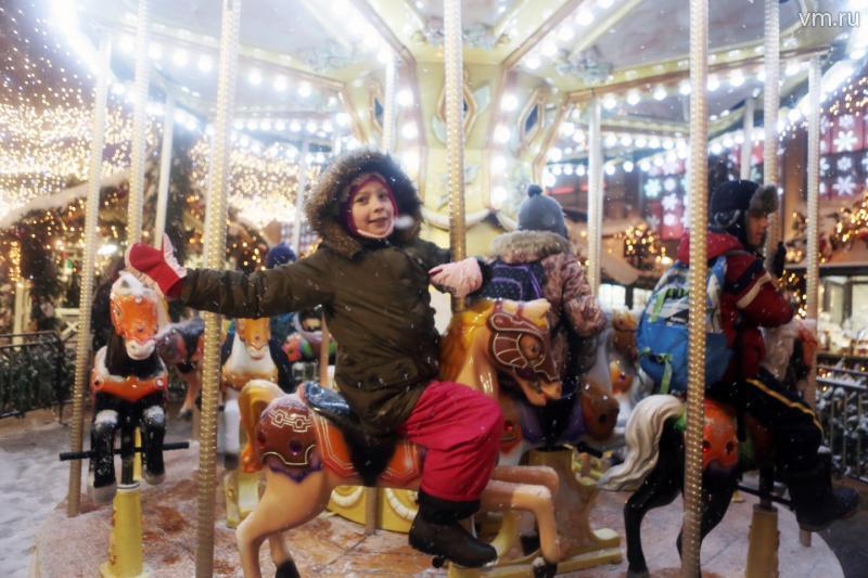 На новогоднем фестивале москвичи освоят хоккей и сноуборд