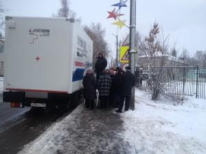 Жителям Роговского сделали флюорографию