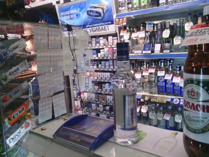 «Безопасная столица» пресекла торговлю контрафактным алкоголем