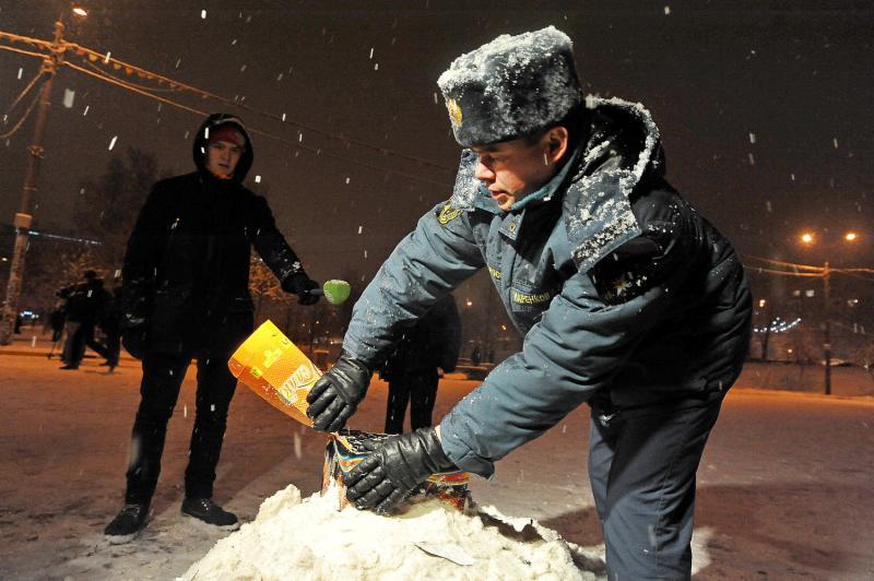 В Роговском организуют площадку для запуска фейерверков