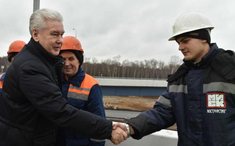 Завершена масштабная реконструкция развязки МКАД с Можайским шоссе
