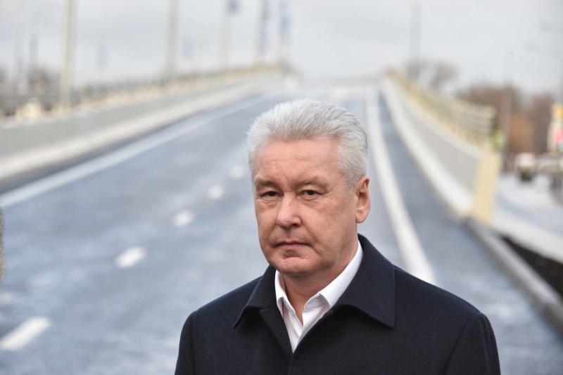 Новая развязка улучшила движение на МКАД в районе Ленинского проспекта