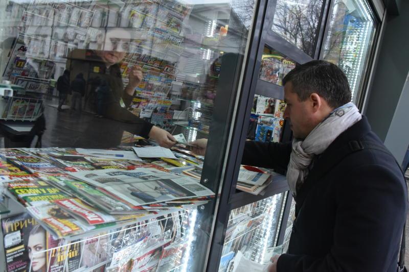 К Новому году вышла газета газета