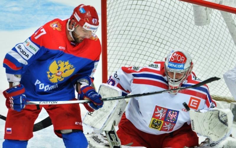 Сборная России по хоккею  проиграла сборной Чехии на Кубке Первого канала