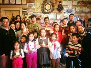 Филимонковский детский дом посетила делегация из Китая