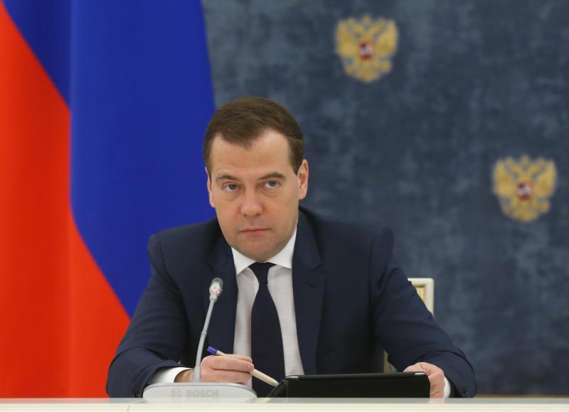 Дмитрий Медведев подписал постановление о введении санкций против Украины