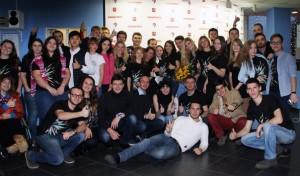 Молодежная палата Десеновского приняла участие в проекте «New media art»