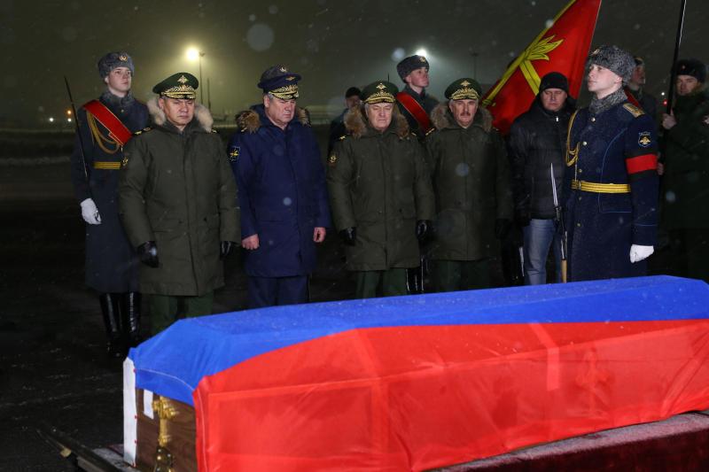 Героя России Олега Пешкова похоронят в Липецке
