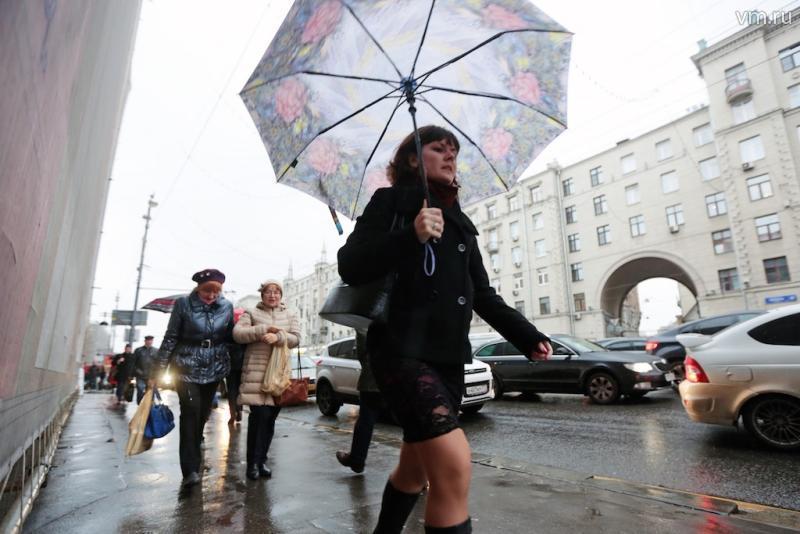 Московская погода установила уже пятый температурный рекорд за декабрь