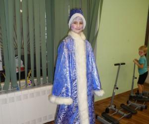 Дети Марушкинского опробовали новогодний грим