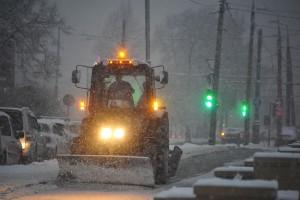 Рязановское очистят от снега