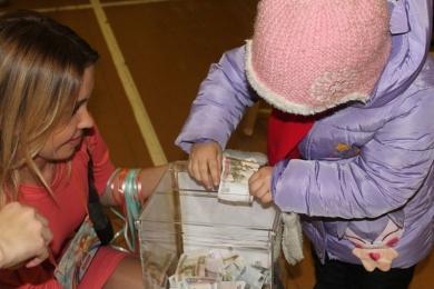 Школьники из Ватутинок собрали 101 200 рублей на благотворительность