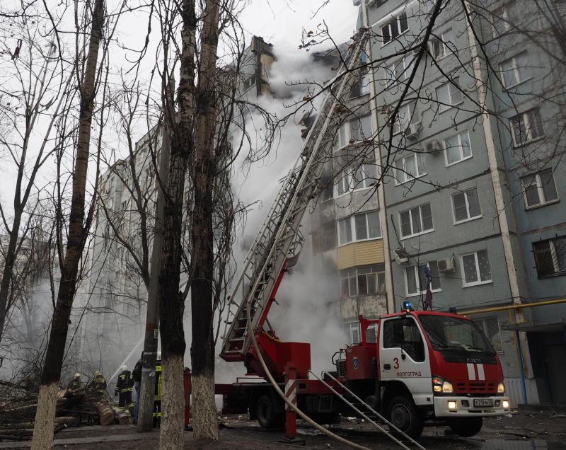 Спасатели нашли останки четвертого погибшего при взрыве в Волгограде