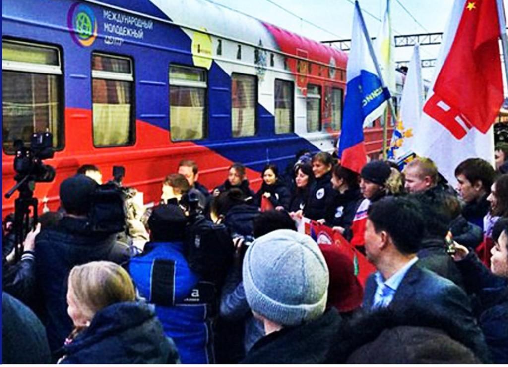 Жители новых округов смогут задать вопросы участникам акции «Поезд Дружбы»