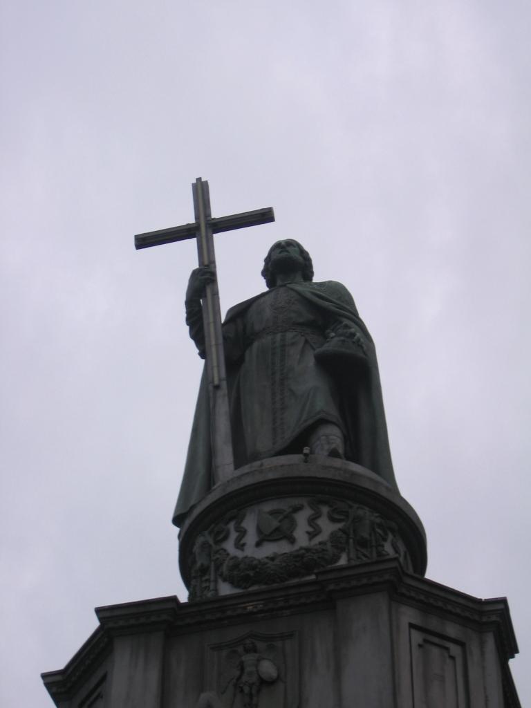 Памятник князю Владимиру не запрещали установить на Боровицкой площади