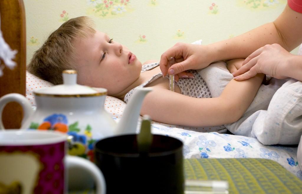 В столице на 44 процента превышен эпидпорог заболеваемости гриппом и ОРВИ среди детей