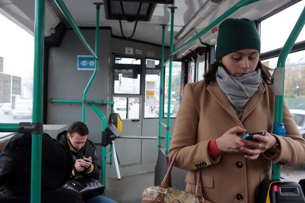Отопление в общественном транспорте включили на полную мощность