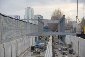 "Строительство станции метро ""Технопарк"""