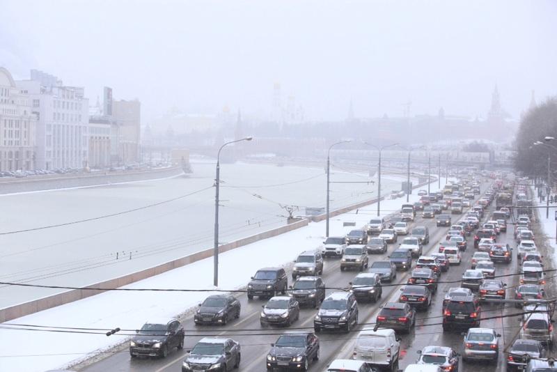 Впервые в Москве не было зафиксировано 10-бальных пробок
