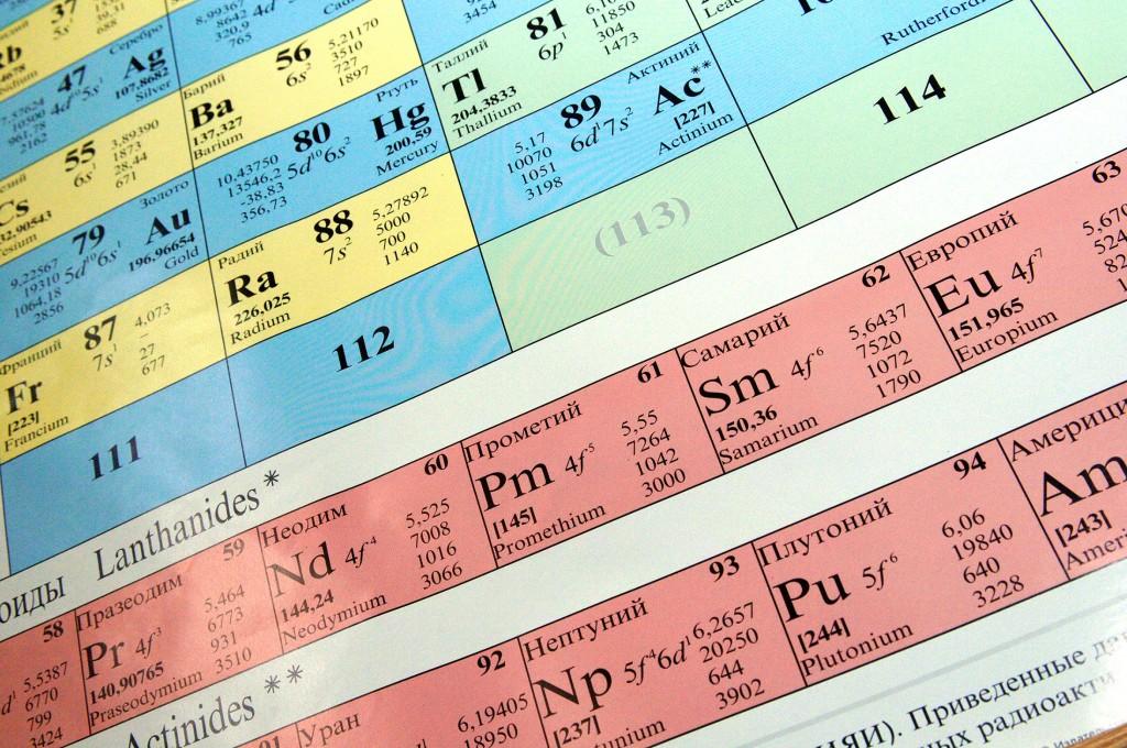 Октарин и унуноктий: ученые открыли новые химические элементы