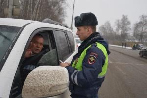 Скрытое патрулирование ГИБДД.