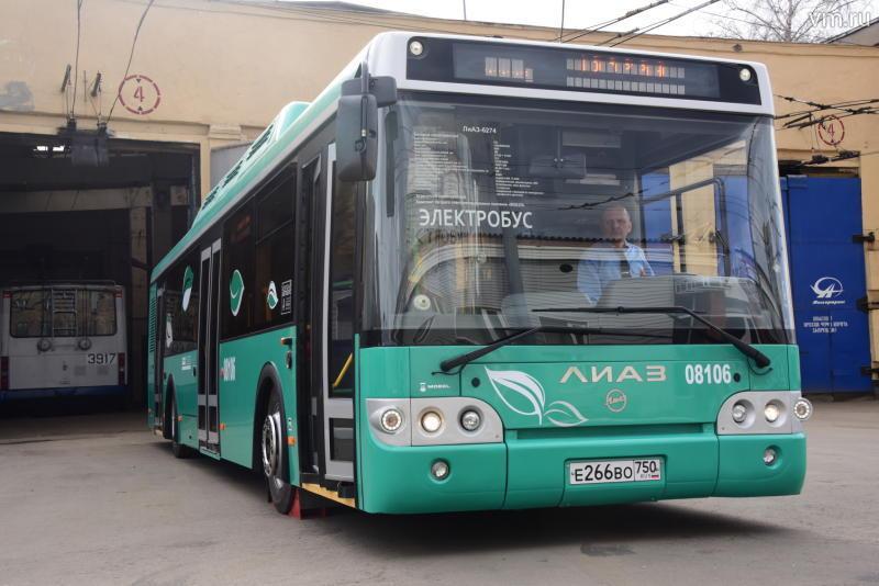 Столица закупит электробусы