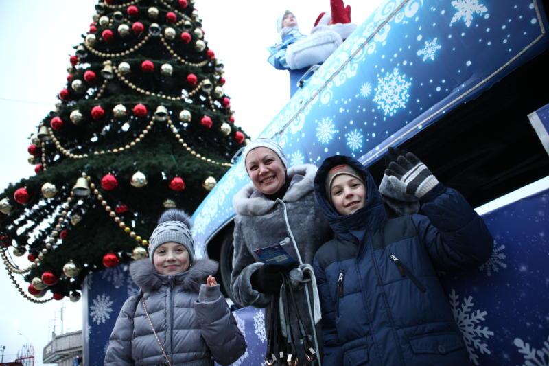 Новогоднюю «Елку в Мэрии» начали праздновать 2 января