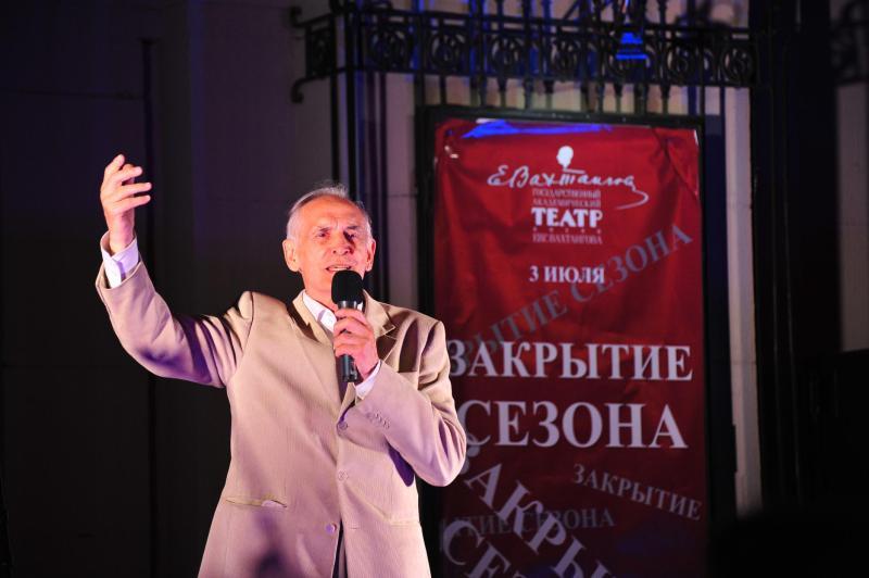 Мэр Москвы поздравил народного артиста Василия Ланового с 82-летием