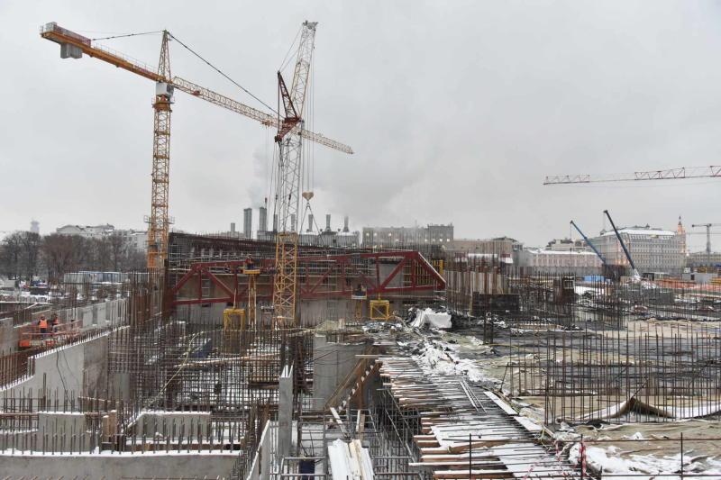 План по строительству жилья в новых округах перевыполнен по итогам 2015 года