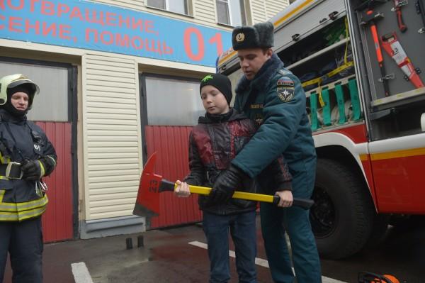 Щаповские школьники приняли участие в окружном тренинге