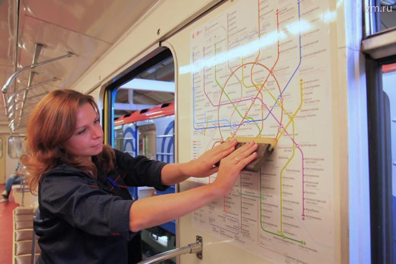В столичном метро появятся новые схемы проезда