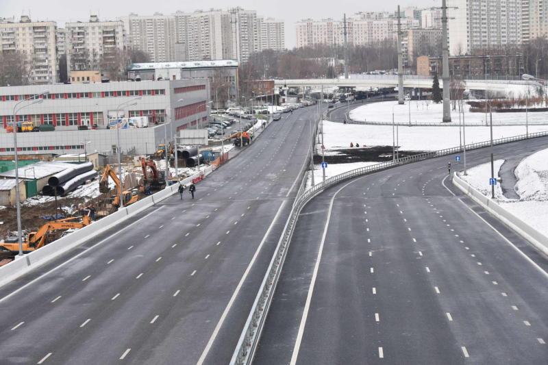 На московских трассах заменят около 300 километров отбойников