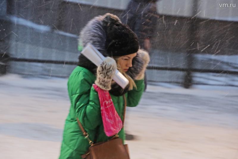 Метеорологи снизили уровень опасности погоды в Москве