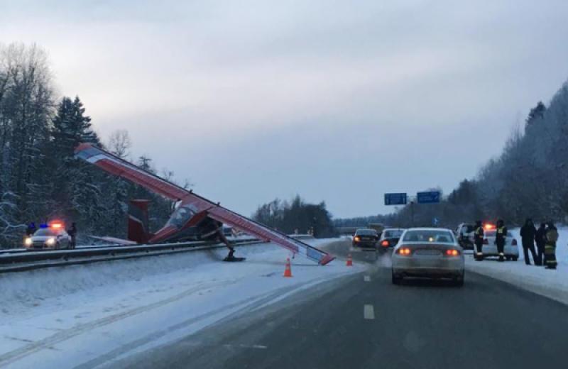 Выяснилась причина отказа двигателя самолета на Ярославском шоссе