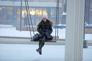 Дата: 13.01.2016, Время: 15:58 Снегопад в Москве