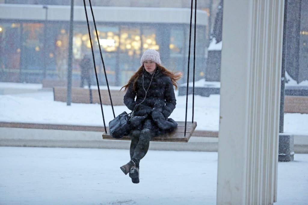 Из Москвы вывезли миллион кубометров снега