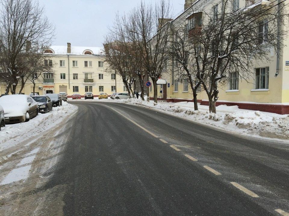 Члены партии «Единая Россия» проверили качество уборки снега в Щербинке